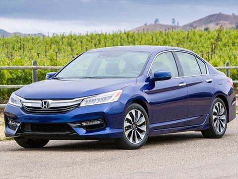 2017 Honda Accord Hybrid 48 Mpg Combined