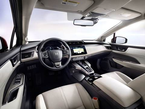2017 Honda Clarity Fuel Cell Interior ...