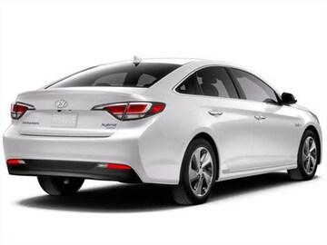 2017 Hyundai Sonata Hybrid Exterior