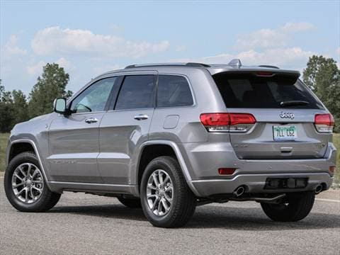 2017 jeep grand cherokee overland pictures videos kelley blue book. Black Bedroom Furniture Sets. Home Design Ideas