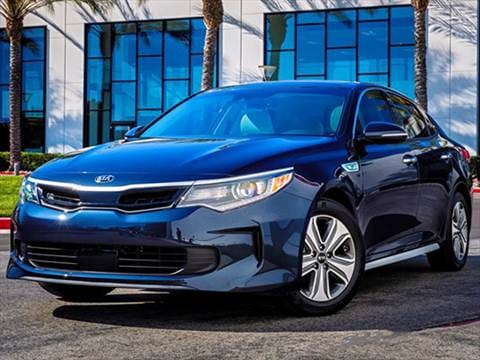 2017 Kia Optima Hybrid 42 Mpg Combined