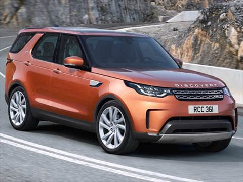 land rover discovery suv review 2017 parkers. Black Bedroom Furniture Sets. Home Design Ideas