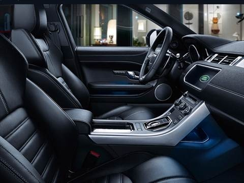 2017 land rover range rover evoque Interior