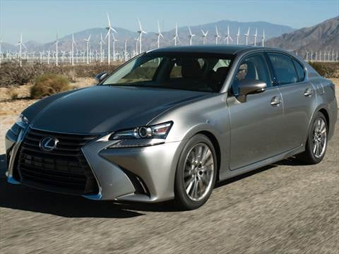 2017 Lexus Gs 26 Mpg Combined