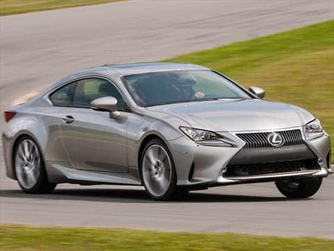 2017 Lexus Rc 26 Mpg Combined