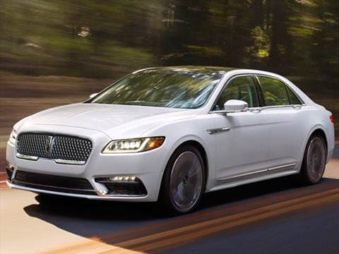2017 Lincoln Continental Pricing Ratings Reviews Kelley Blue Book
