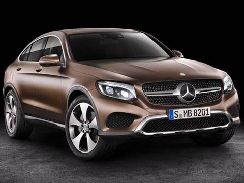 2017 mercedes benz glc coupe Exterior