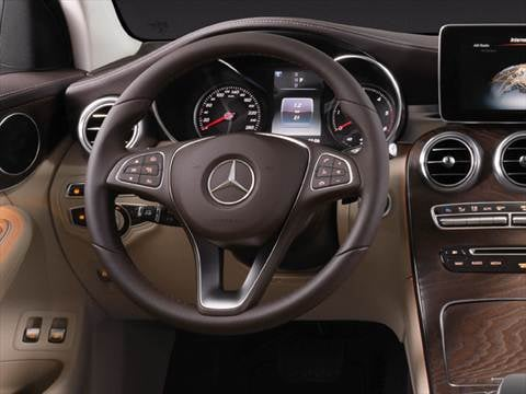 2017 mercedes benz glc coupe Interior