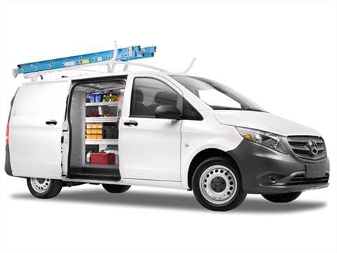 2017 mercedes benz metris worker cargo