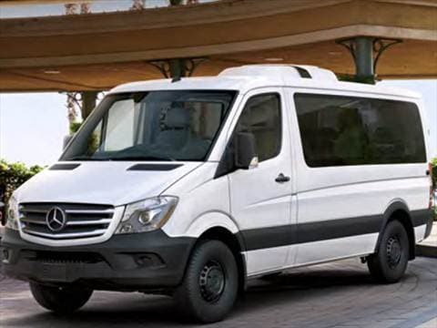 2017 mercedes benz sprinter worker passenger Exterior