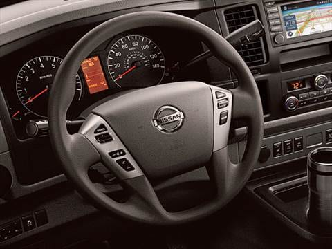 2017 nissan nv3500 hd passenger Interior