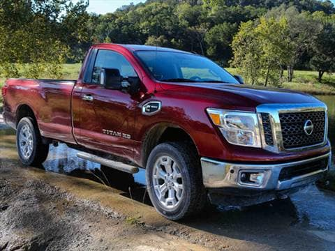 2017 nissan titan xd single cab sv pictures videos kelley blue book. Black Bedroom Furniture Sets. Home Design Ideas