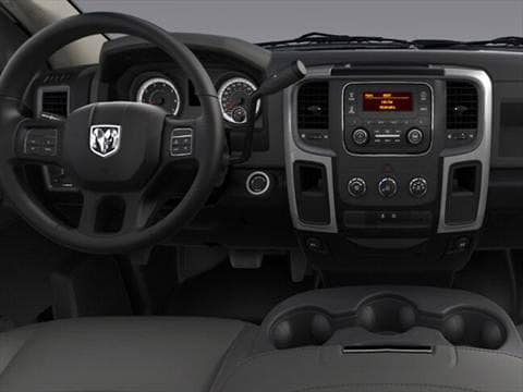 2017 ram 3500 regular cab Interior