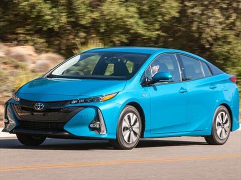2017 Toyota Prius Prime 54 Mpg Combined