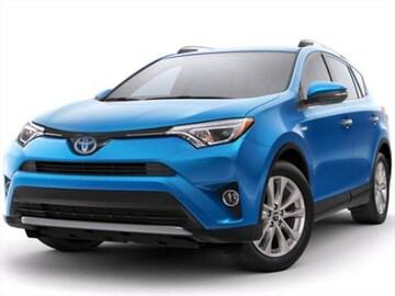 2017 Toyota Rav4 Hybrid Exterior