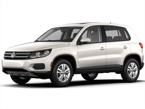 2017 Volkswagen Tiguan Pricing Ratings Reviews Kelley Blue Book