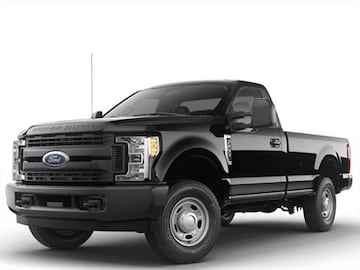ford  super duty regular cab pricing ratings reviews kelley blue book