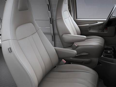 2018 gmc savana 3500 cargo Interior