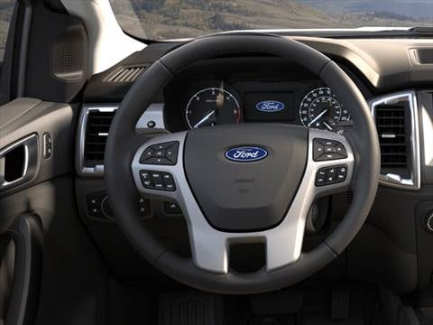 2019 ford ranger supercab Interior