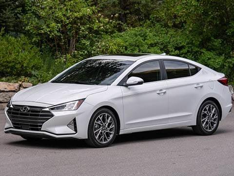 2019 Hyundai Elantra. 29 MPG Combined