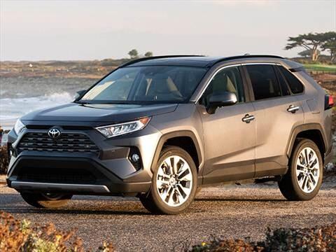 2019 Toyota Rav4 Pricing Ratings Reviews Kelley Blue Book