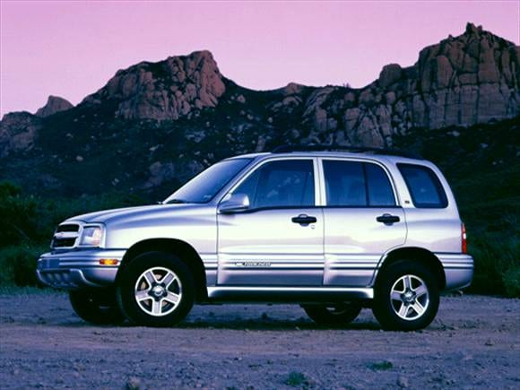 Used 2002 Chevrolet Tracker 4wd Lt For Sale In Crystal