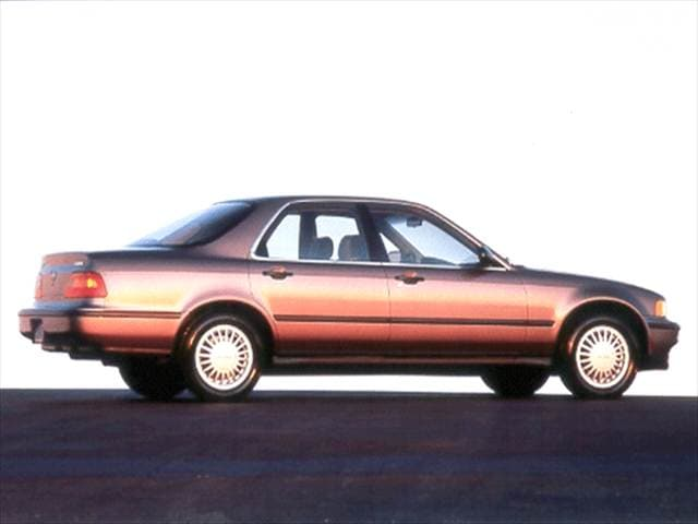 Top Consumer Rated Sedans of 1992 - 1992 Acura Legend