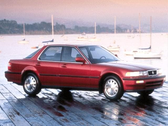 Top Consumer Rated Sedans of 1992 - 1992 Acura Vigor