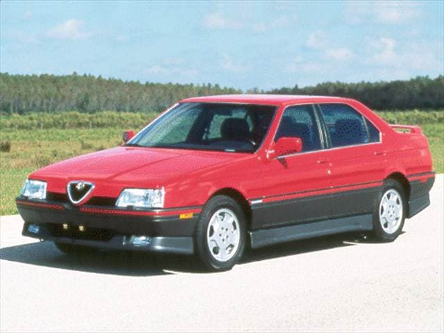Most Fuel Efficient Luxury Vehicles of 1992 - 1992 Alfa Romeo 164