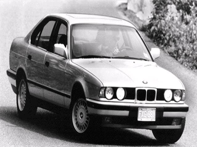 Most Popular Luxury Vehicles of 1992 - 1992 BMW 5 Series