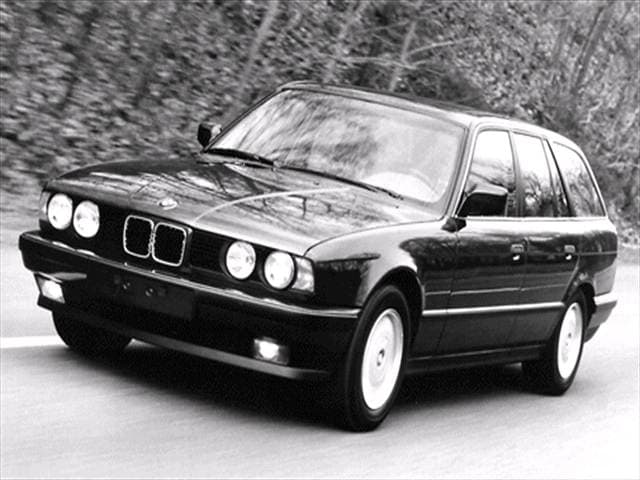 Highest Horsepower Wagons of 1992 - 1992 BMW 5 Series
