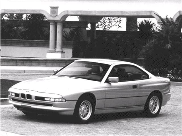 Highest Horsepower Luxury Vehicles of 1992 - 1992 BMW 8 Series