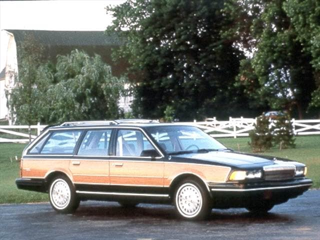 Most Popular Wagons of 1992 - 1992 Buick Century