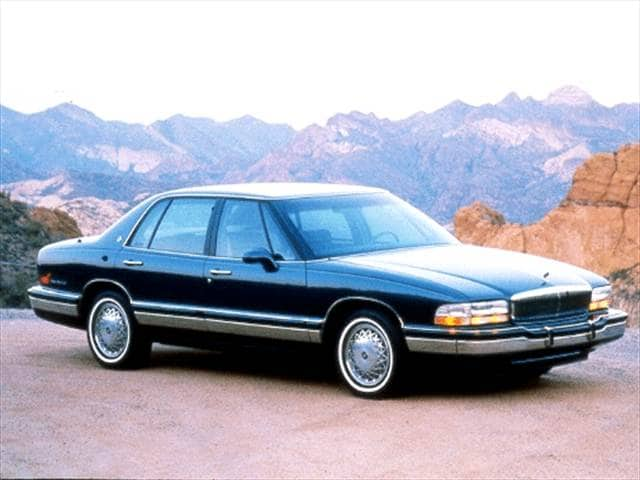 Most Fuel Efficient Luxury Vehicles of 1992 - 1992 Buick Park Avenue