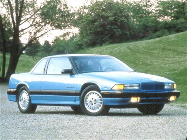 Most Popular Coupes of 1992 - 1992 Buick Regal