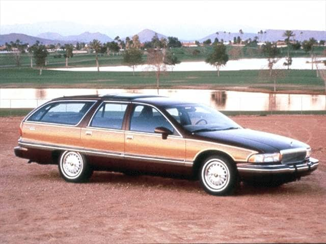 Highest Horsepower Wagons of 1992 - 1992 Buick Roadmaster