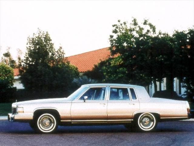 Top Consumer Rated Sedans of 1992 - 1992 Cadillac Brougham