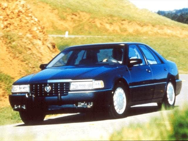 Most Popular Luxury Vehicles of 1992 - 1992 Cadillac Seville