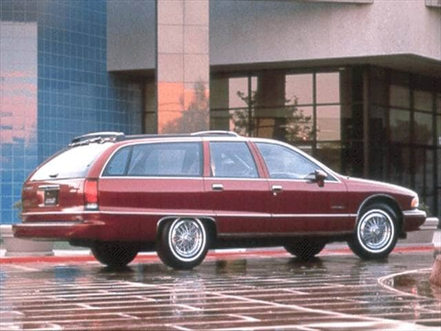 Top Consumer Rated Wagons of 1992 - 1992 Chevrolet Caprice