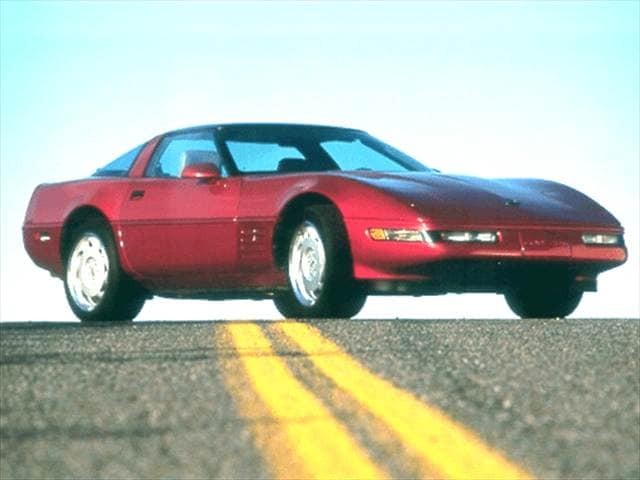 Most Popular Hatchbacks of 1992 - 1992 Chevrolet Corvette