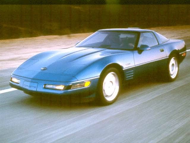 Highest Horsepower Hatchbacks of 1992 - 1992 Chevrolet Corvette