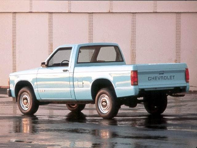 Most Fuel Efficient Trucks of 1992 - 1992 Chevrolet S10 Regular Cab
