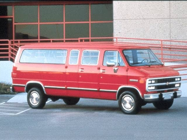Highest Horsepower Vans/Minivans of 1992 - 1992 Chevrolet Sportvan G20
