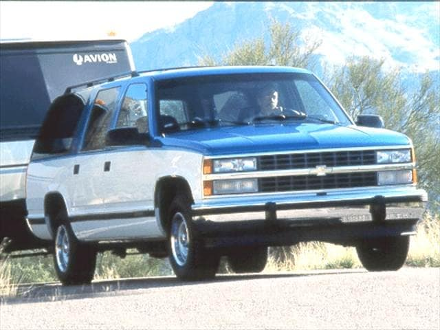 Top Consumer Rated SUVs of 1992 - 1992 Chevrolet Suburban 2500