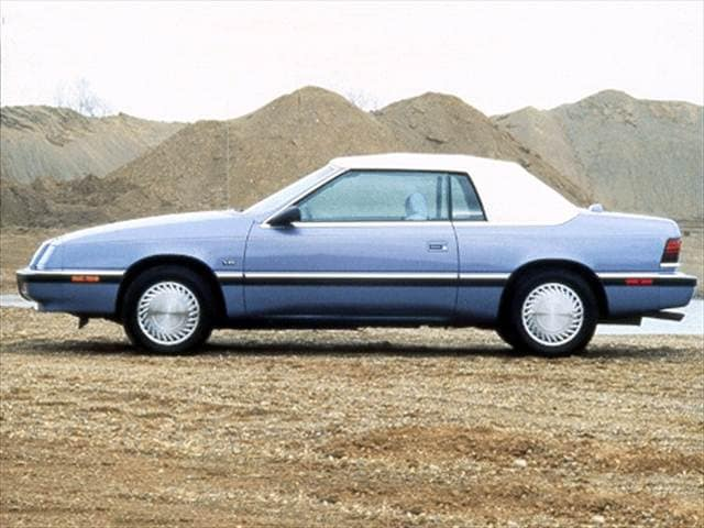 Most Fuel Efficient Convertibles of 1992 - 1992 Chrysler LeBaron
