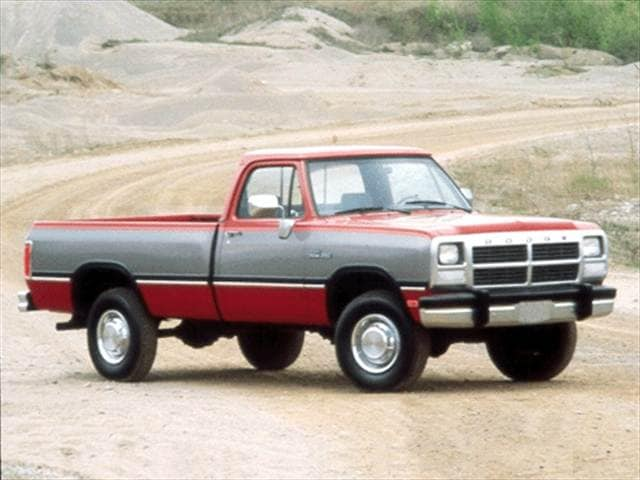 Highest Horsepower Trucks of 1992 - 1992 Dodge D250 Regular Cab
