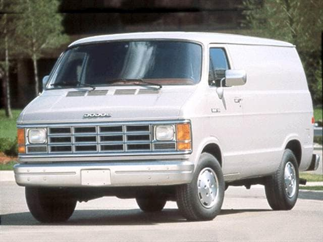 Highest Horsepower Vans/Minivans of 1992 - 1992 Dodge Ram Van B350