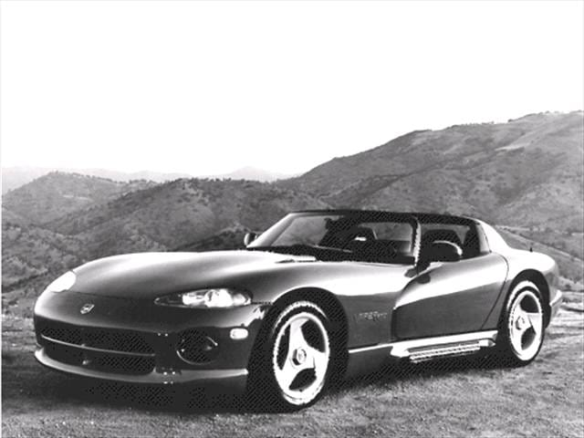 Highest Horsepower Convertibles of 1992 - 1992 Dodge Viper