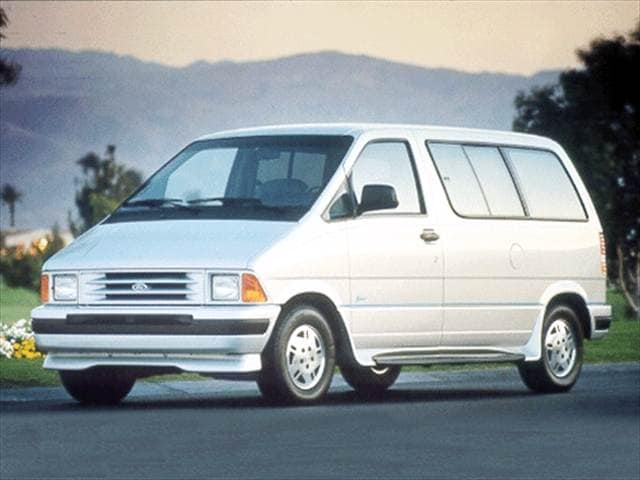 Most Popular Vans/Minivans of 1992 - 1992 Ford Aerostar Cargo