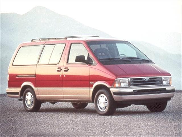 Most Fuel Efficient Vans/Minivans of 1992 - 1992 Ford Aerostar Passenger